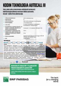 Kodin Teknologia Autocall III
